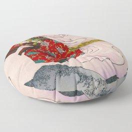 12,000pixel-500dpi - Tsukioka Yoshitoshi - Top Quality Art - USHIWAKAMARU Floor Pillow