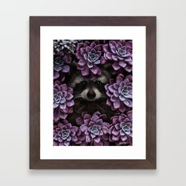everything is magnified when you live from day to day. Framed Art Print