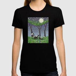 starlit striped skunks T-shirt