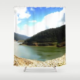 Thompson's Dam Shower Curtain