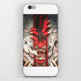The Wolf iPhone Skin