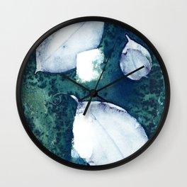 3 Leaves Wall Clock
