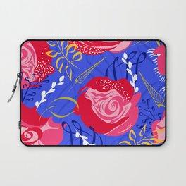 Marsala #illustration #pattern Laptop Sleeve
