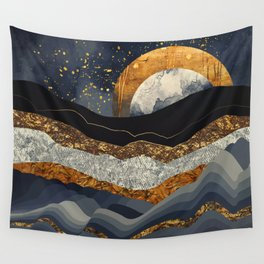 Metallic Mountains Wandbehang