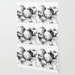 Apples - Lithograph Wallpaper