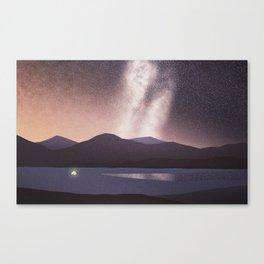 Illuminated Canvas Print