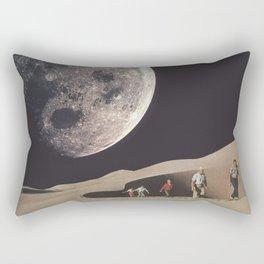 Space Dunes Rectangular Pillow
