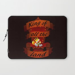King of all the land Laptop Sleeve