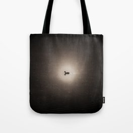 Lone duck on a quiet lake Tote Bag