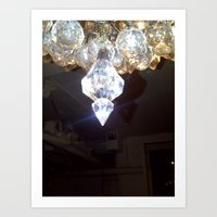 shandy and chandelier's Art Print