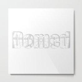 Domed Metal Print