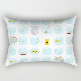Fish Bowls Rectangular Pillow