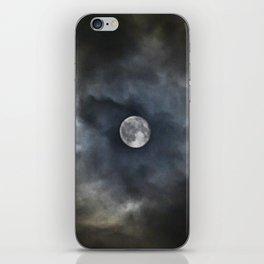 Engulfed Moon iPhone Skin