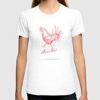 cock T-shirts featuring Cock Flip by Sarah Kamada