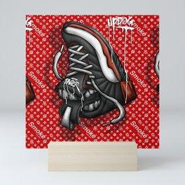 Sneaker Smoké Red Royal Stain Mini Art Print