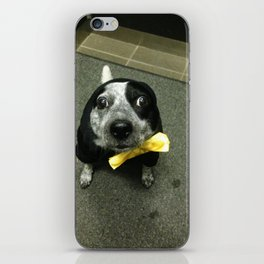 There's a loose seal in the elevator! iPhone Skin