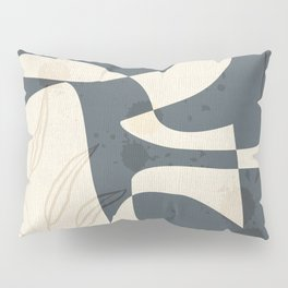Abstract - Vase Shapes in Evening Dove Pillow Sham