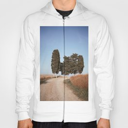 strade bianche and cipressi Hoody