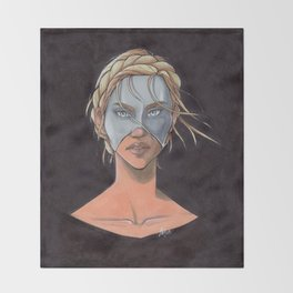 Helene Aquilla Throw Blanket