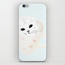Cup o cute iPhone Skin