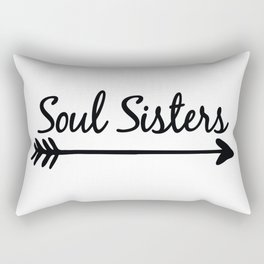 Soul Sisters Rectangular Pillow