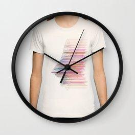 glitchship Wall Clock