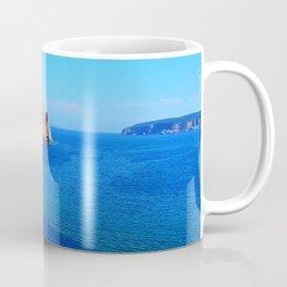 Perce Rock at Low Tide Coffee Mug