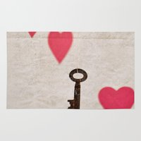 key Area & Throw Rugs featuring Key by SilverSatellite