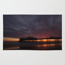 Cromer Pier - Pre Sunrise Rug