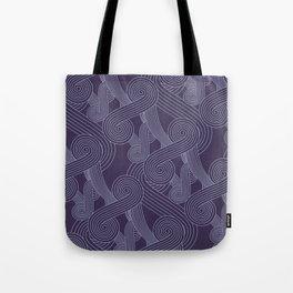 Quarian Swirls Tote Bag