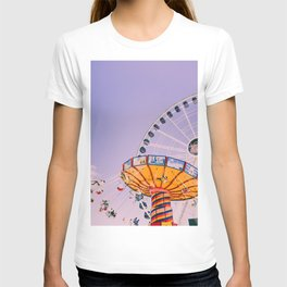 Swing Ride Sunset (Color) T-shirt