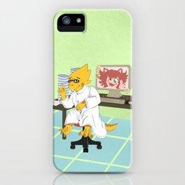 Alphys iPhone Case