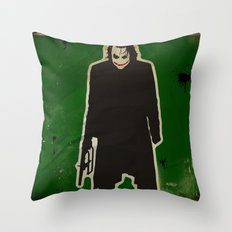 The Dark Knight: Joker Throw Pillow