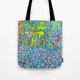 """Gustav Klimt """"Horticultural Landscape with hilltop"""" Tote Bag"""
