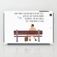 forrest gump iPad Cases featuring Forrest Gump by Christina