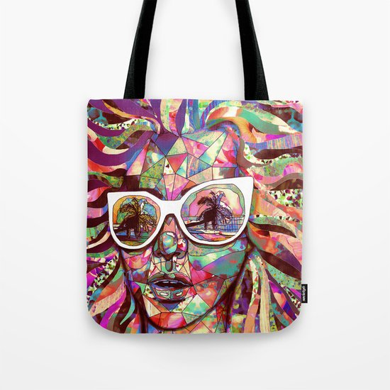 Sun Glasses In a Summer Sun Tote Bag