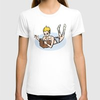bookworm T-shirts featuring Bookworm by ivanecky