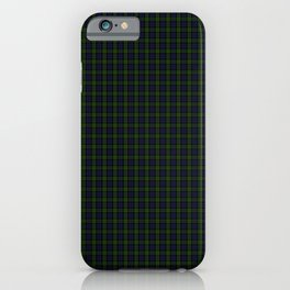 Blackwatch Tartan iPhone Case
