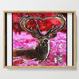 Stunning Deer 04-01 Serving Tray