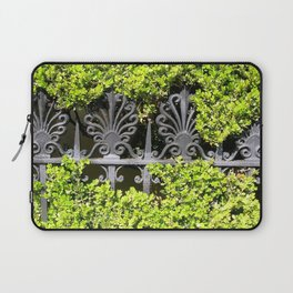 Ironwork in the Hedge Laptop Sleeve
