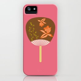 Chinese Antique - fan iPhone Case