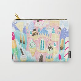 Ice cream Castle Carry-All Pouch