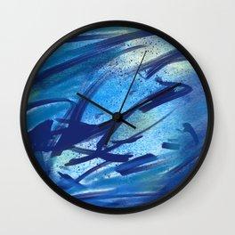 Tahoe Blues Wall Clock