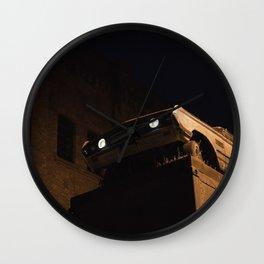 Steel & Streets Wall Clock