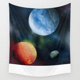 Celestial Triad Wall Tapestry