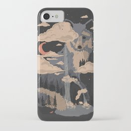 At the Foot of Fox Mountain... iPhone Case
