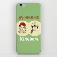 moonrise kingdom iPhone & iPod Skins featuring Moonrise Kingdom  by Sheena White for Winsome Gallery