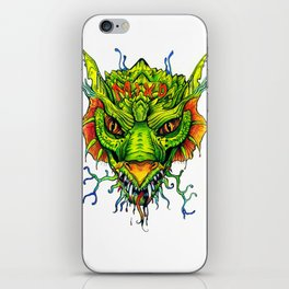 Green Mind Monster iPhone Skin
