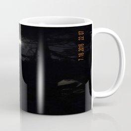darkness, nature, landscape, moon light, night shot, no flash Coffee Mug