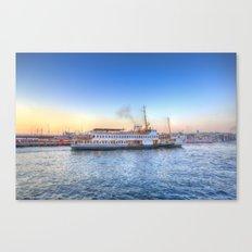 Pleasure Cruise Boat Istanbul Canvas Print